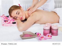 Wellness-Massage zu Hause